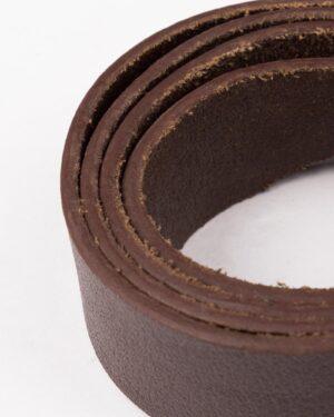 کمربند ساده وادین کوک قهوهای تیره-قهوه ای تیره-جنس