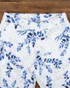 ست بلوز شلوار طرح دار زنانه- سفید - بالاتنه
