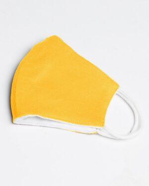 ماسک بچه گانه زرد-نیمه خارجی ماسک