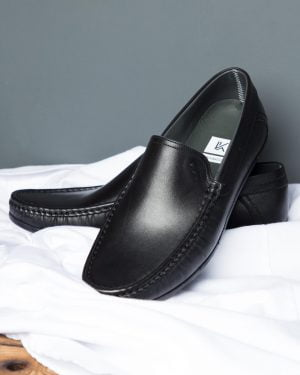 کفش کالج مردانه مشکی-جفت