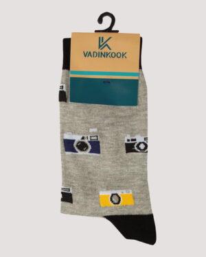 جوراب ساق بلند طرح رادیو -طوسی- محیطی