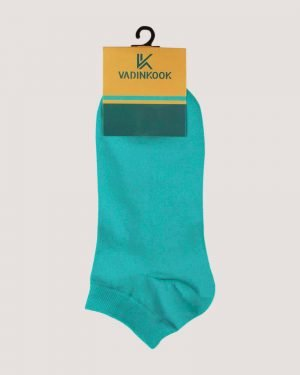 جوراب ساق کوتاه اسپرت- آبی روشن- محیطی