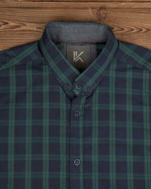 پیراهن آستین کوتاه سبزیقه- روبرو