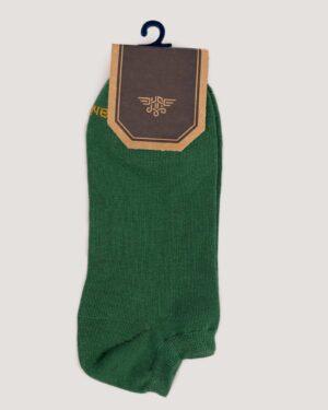 جوراب ساق کوتاه اسپرت مردانه-سبز- روبرو