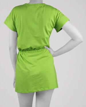 سارافون زنانه طرح دار- فسفری- پشت