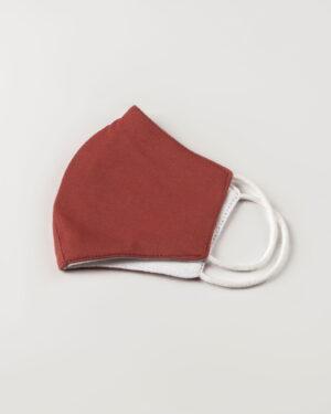 ماسک بچه گانه آجری -نیمه خارجی ماسک
