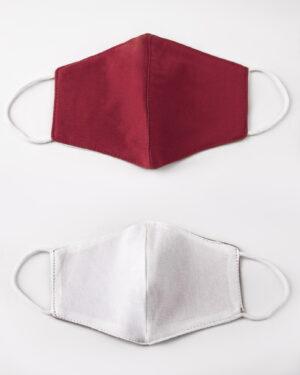 ماسک بچه گانه قرمز -بیرون و آستر