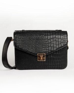 کیف دوشی زنانه اسپرت- مشکی-روبرو