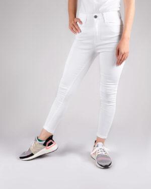 شلوار جین سفید زنانه- روبرو