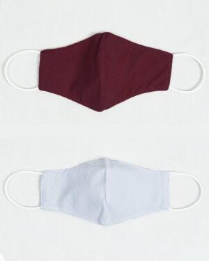 ماسک تنفسی پارچه ای-بنفش- داخل و بیرون