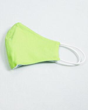 ماسک تنفسی پارچه ای-سبز پاستیلی -نیمه خارجی ماسک