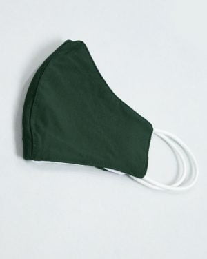 ماسک تنفسی پارچه ای-یشمی پررنگ-نیمه خارجی ماسک