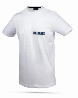 تیشرت طرح حروف انگلیسی- سفید- روبرو