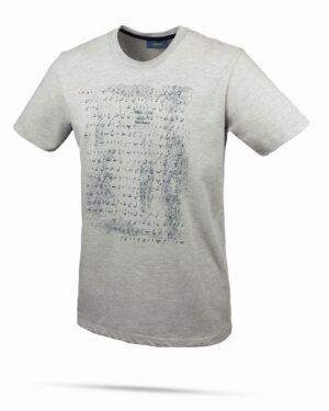 تیشرت نخی طرح حروف فارسی- طوسی- روبرو
