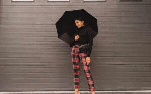 لباس های ترند پاییز 2020 با شلوار چهارخانه