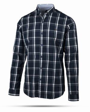 پیراهن مردانه چهارخانه آستین بلند