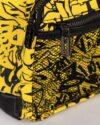 کوله پشتی چرم اسپرت- زرد- جیب طوری