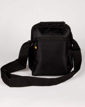 کیف دوشی کاترپیلار-مشکی- پشت