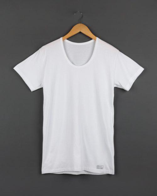 زیرپوش مردانه کد 1001- سفید- روبرو