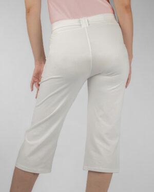 شلوارک زنانه- سفید- پشت