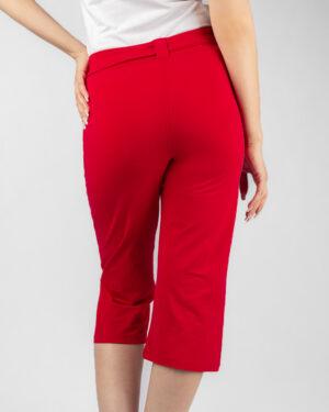 شلوارک زنانه- قرمز- پشت