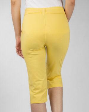 شلوارک زنانه- لیمویی- پشت