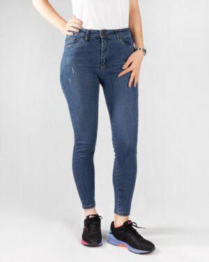 شلوار جین آبی- روبرو