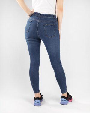 شلوار جین آبی- پشت