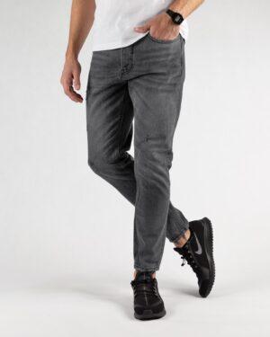 شلوار جین خاکستری تیره- روبرو