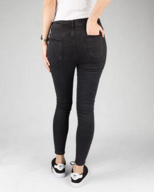 شلوار جین زنانه تیره- مشکی- پشت