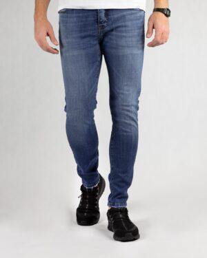 شلوار جین مردانه آبی- روبرو
