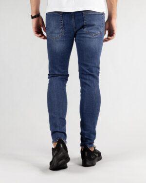 شلوار جین مردانه آبی- پشت