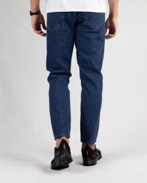 شلوار جین 98303- آبی کاربنی- پشت