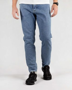 شلوار مردانه جین- آبی- روبرو