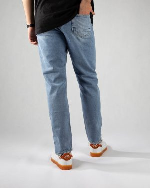شلوار مردانه جین- آبی روشن- پشت