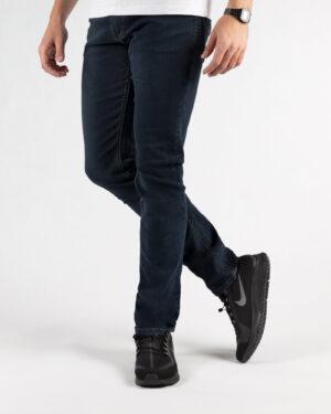 شلوار مردانه جین- آبی نفتی- روبرو