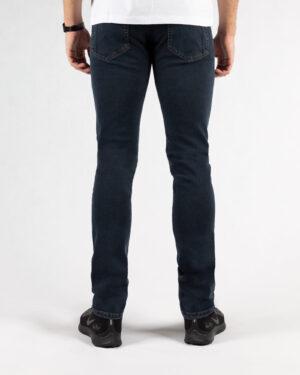 شلوار مردانه جین- آبی نفتی- پشت