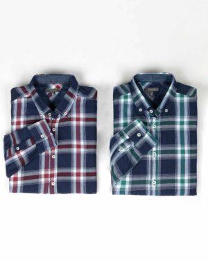 پیراهن مردانه چهارخانه- محیطی