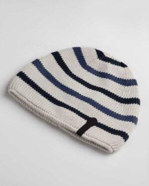 کلاه بافت بچگانه- خاکستری محو- روبرو