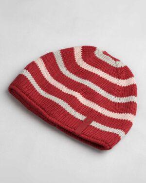 کلاه بافت بچگانه- قرمز- روبرو