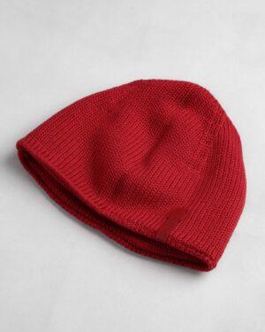 کلاه بافت بچگانه- قرمز- پشت