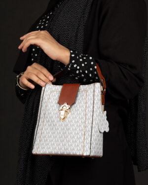 کیف دستی زنانه- استخوانی- روبرو محیطی