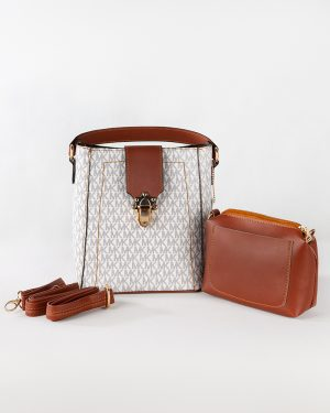 کیف دستی زنانه- استخوانی- روبرو کیف