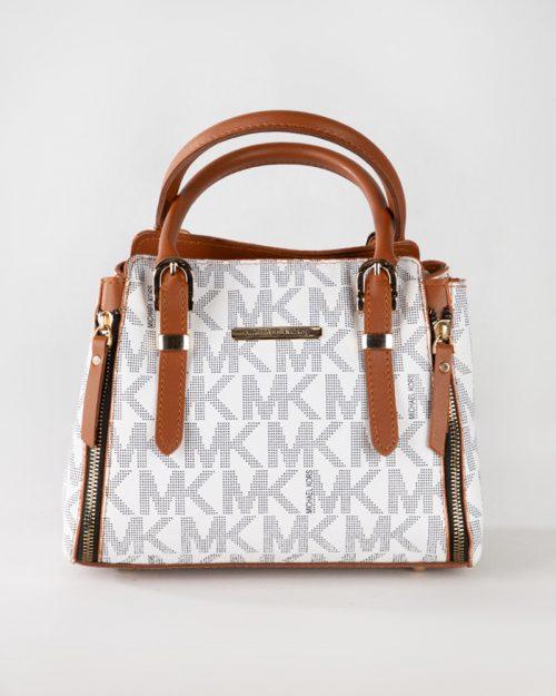 کیف دستی زنانه - سفید- نمای روبرو