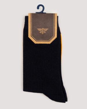 جوراب ساق بلند 4T9- سرمه ای تیره (1)