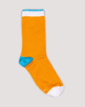 جوراب ساق بلند 4T9- عسلی (2)