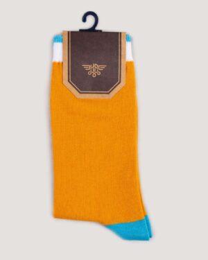 جوراب ساق بلند 4T9- عسلی (4)