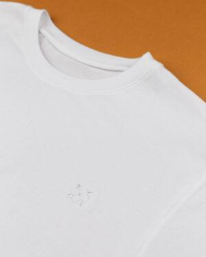 زیرپوش مردانه 2001- سفید- یقه