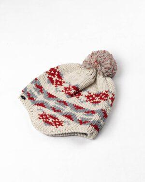 ست شال و کلاه 20006- قرمز (2)