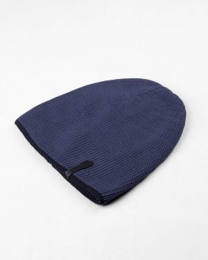 ست شال و کلاه 20027- آبی تیره (2)